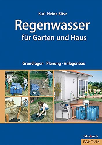 Regenwasser für Garten und Haus