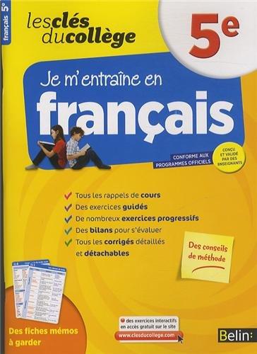 Cls du collge - Franais 5e