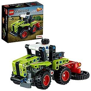 LEGO Technic - Mini CLAAS XERION, Juguete de Construcción 2 en 1, Transfórmalo en una Cosechadora y Cortadora, Set a Partir de 7 Años (42102)