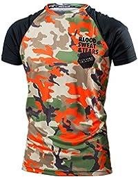 be4b336356 Tinxyer Camiseta 3d Camiseta 3D Camuflaje Ropa para Hombres Culturismo Moda  Verano Camiseta Masculina Blusa para