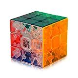 Roxenda Speed Cube, Profesional 3x3x3 Speed Cube - Torneado rápido y Suave - Helado sólido y sin Etiquetas, el Mejor Juguete mágico 3D Puzzle: se vuelve más rápido Que el Original (T6)