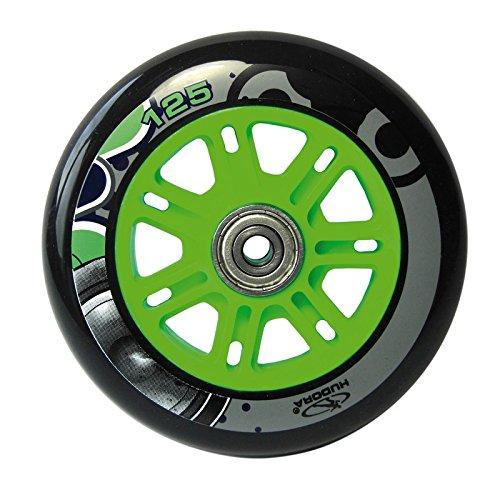 PU-Rolle Hudora Big Wheel per Stück 125 mm Ø grün/blau f.Mod.14753 (1 Stück)
