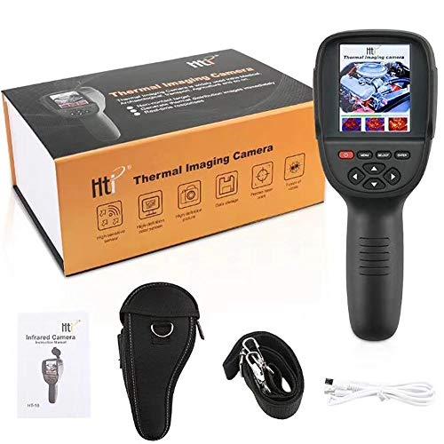 Beige Farbpalette (Professionelle Mini-LCD-Digital-Handheld-Wärmebilder Infrarot-Thermometer Bildauflösung 220X160Eingebaute umschaltbare Farbpalette mit Datenspeicherfunktion (HT-18))