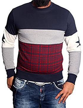 Hombre Sudadera Sweater Jersey Sudadera Hoodie Long manga larga JP 111de BB nuevo