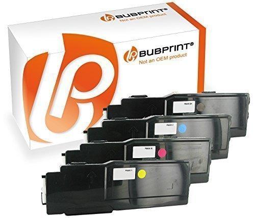 Bubprint 4 Toner kompatibel für Xerox 106R02232 106R02229 106R02230 106R02231 für Phaser 6600 DN DNM N WorkCentre 6605 6605DN 6605DNM 6605N BK C M Y (Phaser Kompatibel)