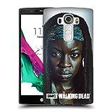 Offizielle AMC The Walking Dead Michonne Persönlichkeiten Ruckseite Hülle für LG G4 / H815 / H810