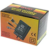 Transformador universal de corriente AC/DC 1000 mA. Salida CC 1,5/3/4,5/6/7,5/9/12 V - 6 Clavijas - Modelo BVC MW-79A