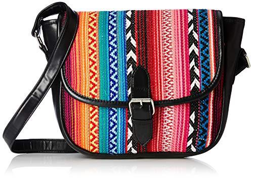 Kanvas Katha Women's Sling Bag (Multicolor)