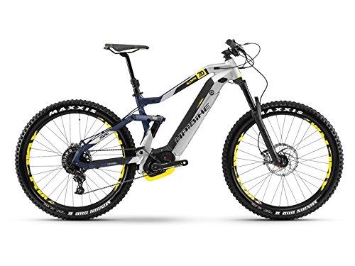 Haibike XDURO AllMtn 7.0 E-Bike 500Wh E-Mountainbike silber/blau/gelb matt