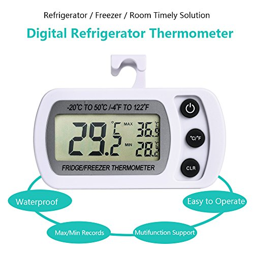NexGadget digitales Gefrierschrank- Thermometer - 5