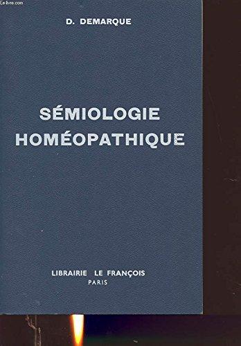 Smiologie homopathique