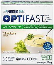 اوبتيفاست شوربة حمية منخفضة السعرات الحرارية بنكهة الدجاج، 424 جم