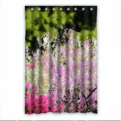 dalliy Custom Peach Blossom Rideau de douche Polyester 120cm x 183cm, Polyester, E, 48