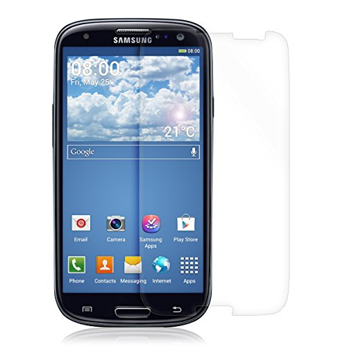 kwmobile Folie für Samsung Galaxy S3 / S3 Neo - klare Bildschirmschutzfolie Bildschirmschutz Crystal Clear kristallklar Bildschirmfolie Schutzfolie