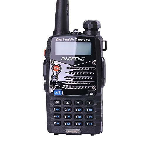 Baofeng BF-UV-5RA+ Walkie Talkie Negro