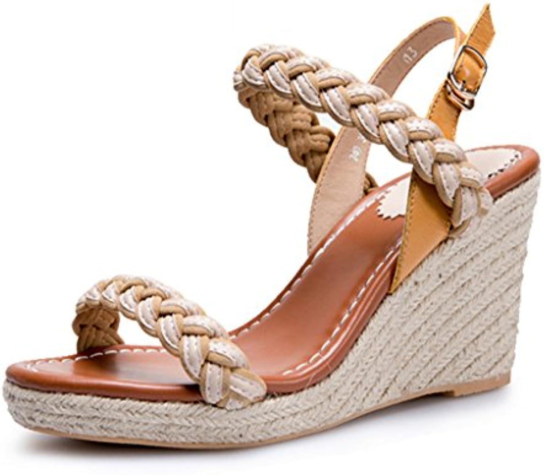 5126634fa897 Sandals Sandals Sandals Summer New Straw Wedge