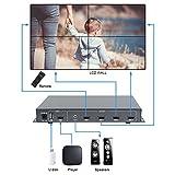 Link-mi tv04s Verbindung HDMI 2x 2Video Wall Bildschirm Controller USB/HDMI-Eingang Support 180Degree Spiegel Flip für LED/LCD Display Edge Schirmung