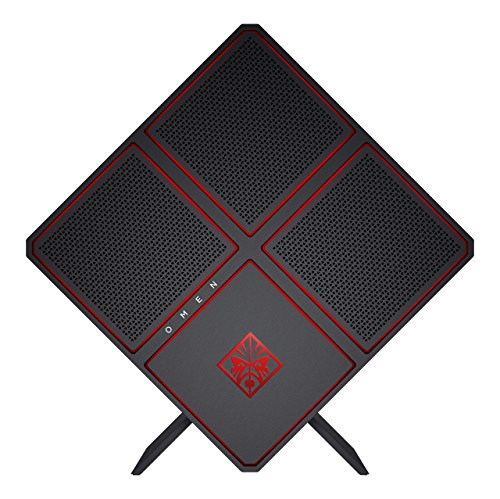 OMEN by HP (900-151ng) Gaming Desktop PC (Intel Core i7-7700K, 16 GB RAM, 2 TB HDD, 512 GB SSD, NVIDIA GeForce GTX 1080, Windows 10 Home 64) schwarz