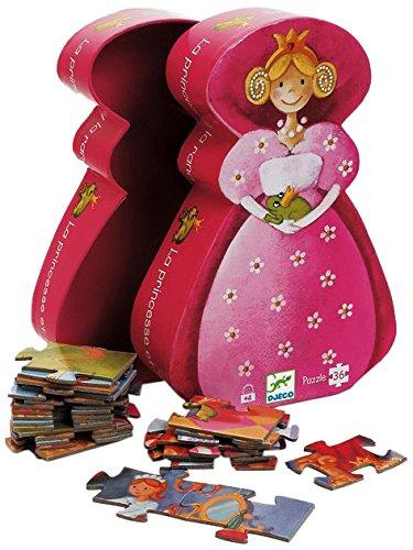 Djeco Prinzessinnen-Puzzle, 36Teile