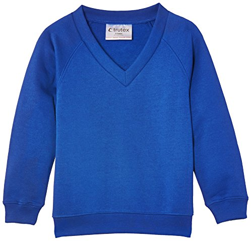 Trutex Limited Unisex Sweatshirt 260G Crew Neck Blau (Royal)