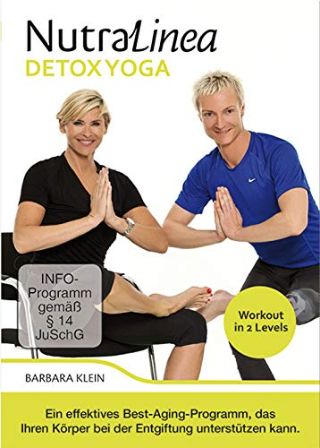 "NutraLinea® DVD \""DETOX YOGA\"" - effektives Best-Aging-Programm, das Ihren Körper bei der Entgiftung unterstützen kann!"