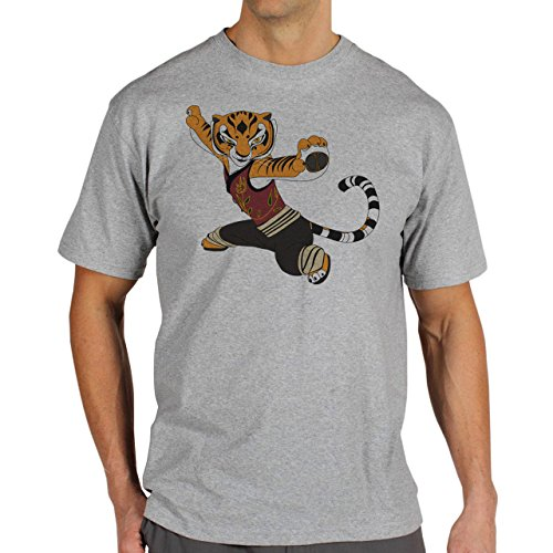 Kung-Fu-Panda-Tiger-Animated-Art-Layer-0.jpg Herren T-Shirt Grau