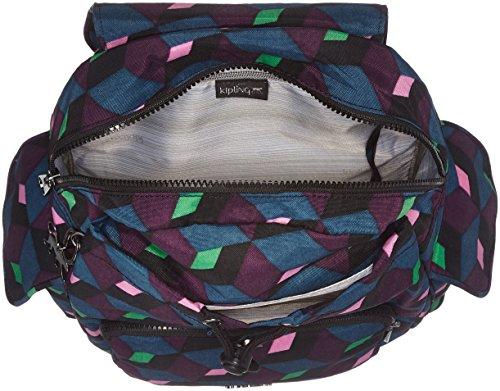 Kipling Damen City Pack S Rucksack, 27x33.5x19 cm Mehrfarbig (Bold Mirage)