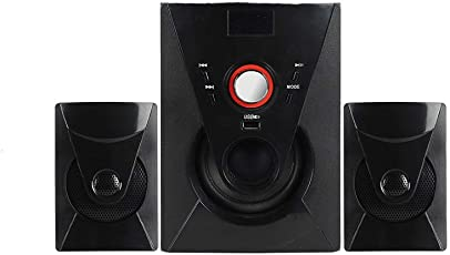 Tiktronix 2.1 Multimedia Home Theater Speaker System with 30w, USB , AUX , Bluetooth , FM , SD Memory Card & Remote Control Connectivity (TT403)