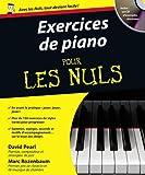 exercices de piano pour les nuls 1 cd