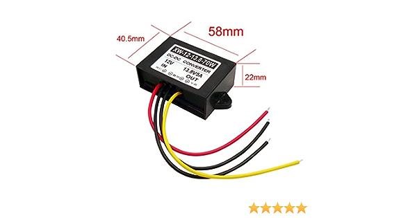 Blackr 12 V Auf 13 8 V Dc Boost Converter 5 A 70 W Dc Power Supply Voltage Step Up Changer Adapter Regler Auto