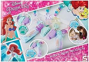 Disney Princess - Pulsera de la Sirenita Hacer tu Propio Mejor Amigo, Multicolor