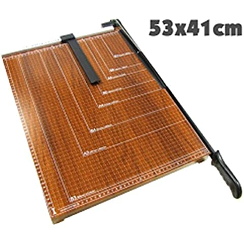 Cablematic - Cizalla de palanca para cortar papel B3 (53x41cm)