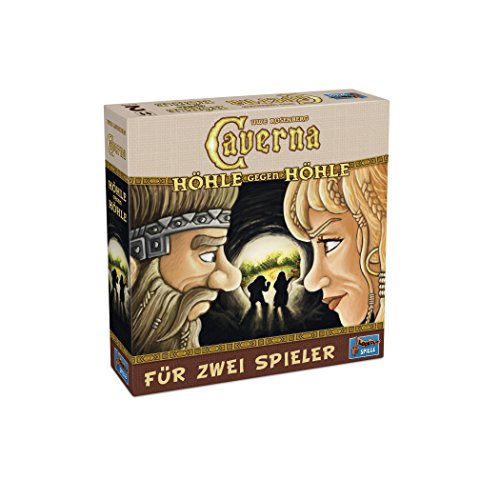 Lookout Games 22160090 - Caverna - Höhle gegen Höhle, 2-Spieler-Spiel von Uwe Rosenberg