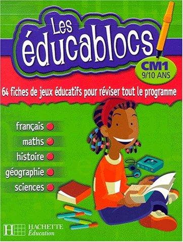 Educablocs CM1 : 64 fiches de jeux éducatifs pour réviser tout le programme
