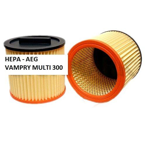 Filterelement / Papier Staubsaugerbeutel geeignet für AEG Vampyr MULTI-300 - Ersatz Staubsauger Filter