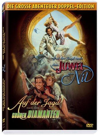 Auf der Jagd nach dem grünen Diamanten & Auf der Jagd nach dem Juwel vom Nil (2 DVDs)