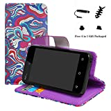 LFDZ Wiko Sunny 2 case-Stand View Flip PU Leather Wallet