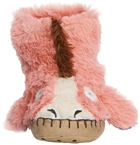 hatley Kids Slouch Slipper Unisex-Kinder Hausschuhe Pink (Pink Horse)