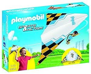 Playmobil Aire Libre ala Delta Jack Playset de Figuras de Juguete, 7 x 34,8 x 24,8 cm (Playmobil 9206)