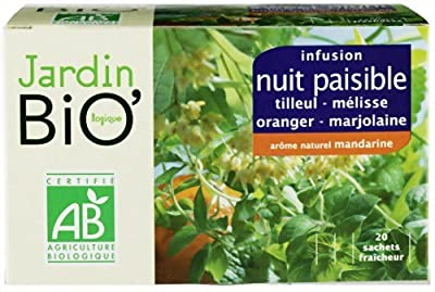 Jardin Bio Infusion Nuits Paisibles 30 g