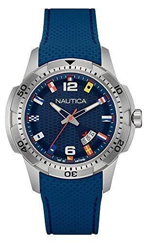 Nautica Herrenuhr NCS 16 Flags NAI13515G