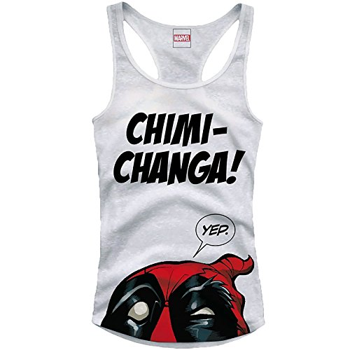Deadpool Girlie Tank Top Chimi Changa Size L CODI