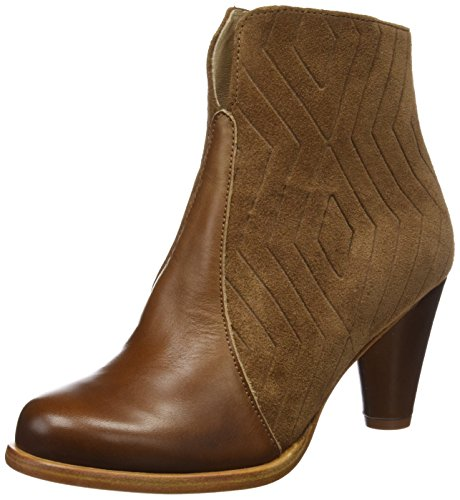 Neosens Damen S935 Restored Skin-Vesubio Cuero/Beba Kurzschaft Stiefel, Braun (Cuero), 40 EU (Botines De Cuero)