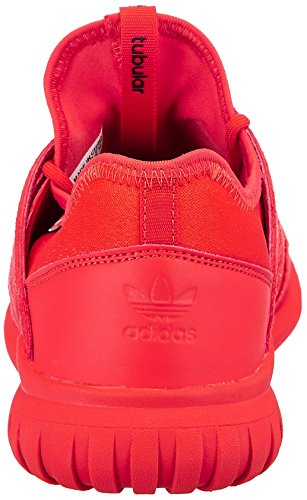 adidas Tubular Radial J, Scarpe da Ginnastica Unisex – Bambini Rosso (Red/Red/Cblack)