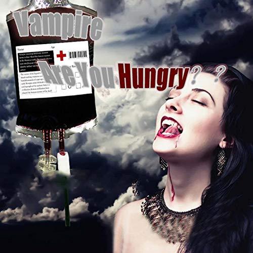 (Jspoir Melodiz 500 ml Klar Medizinische PVC Material Wiederverwendbare Blut Energiegetränk Tasche Halloween Ideen Halloween Dekorationen (1pc))