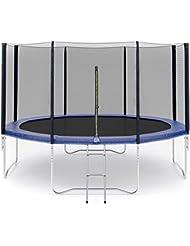 Filet de sécurité pour trampoline Ø183cm 6barres, Ø245cm 6barres, Ø305cm 6barres ,Ø305cm 8barres, Ø366cm 8barres, Ø396cm 8barres, Ø430cm 8barres -Barres non inclus