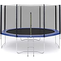 Filet de sécurité pour trampoline Ø245cm 6barres, Ø305cm 6barres ,Ø305cm 8barres, Ø366cm 8barres, Ø396cm 8barres, Ø430cm 8barres - Barres et Coussin non inclus (Filet de sécurité OU Coushion à choisir)