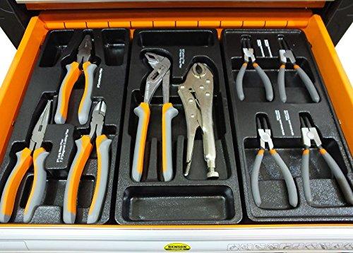 Werkstattwagen gefüllt mit Werkzeug! Werkzeugschrank Werkzeugwagen Werkzeugkiste - 4