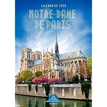 Calendrier mural Notre-Dame de Paris 2020