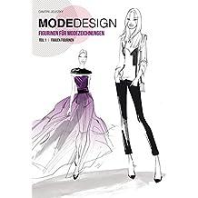 Modedesign Figurinen für Modezeichnungen: Teil 1 Frauen Figurinen